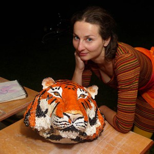 tygrys ceramika JumaArt 06