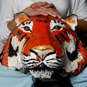 tygrys ceramika JumaArt 09