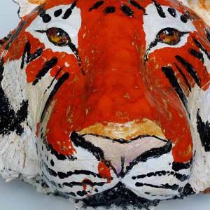 tygrys ceramika JumaArt 10