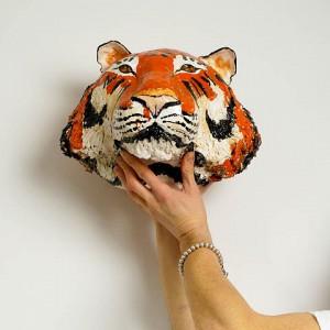tygrys ceramika JumaArt 12