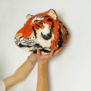 tygrys ceramika JumaArt 13
